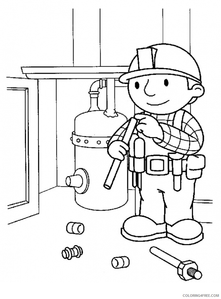Bob the Builder Coloring Pages TV Film Bob The Builder Pictures Printable 2020 01000 Coloring4free