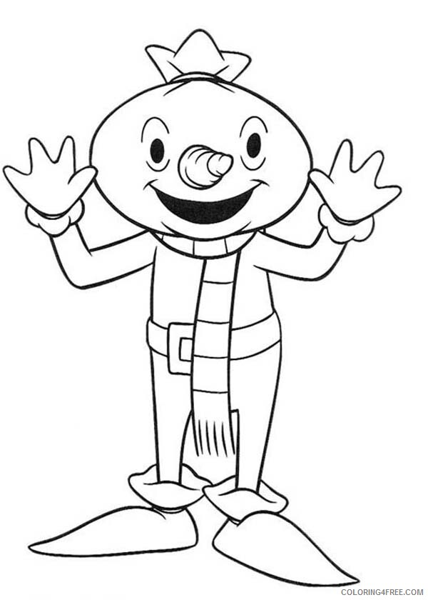 Bob the Builder Coloring Pages TV Film Character Spud the Scarecrow 2020 00994 Coloring4free