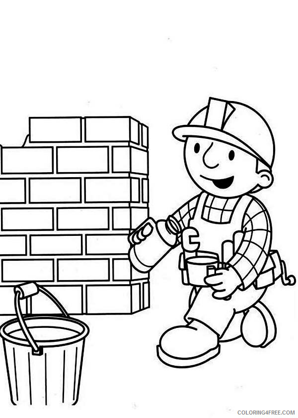 Bob the Builder Coloring Pages TV Film Coffee Break Printable 2020 00996 Coloring4free
