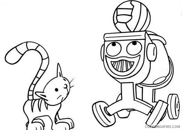 Bob the Builder Coloring Pages TV Film Dizzy and Bob the Builder Pet 2020 01138 Coloring4free