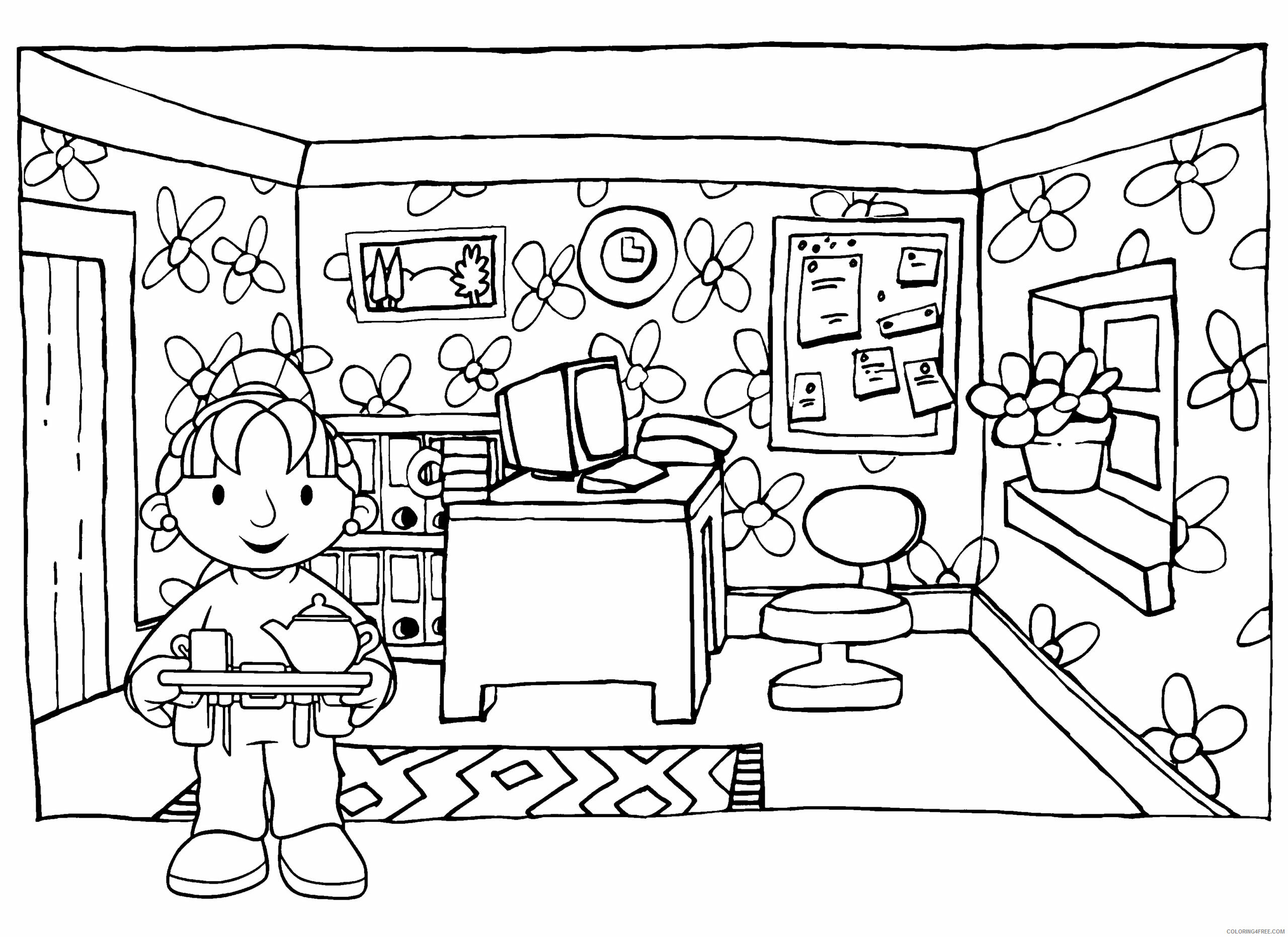 Bob the Builder Coloring Pages TV Film bob the builder 57 Printable 2020 01077 Coloring4free