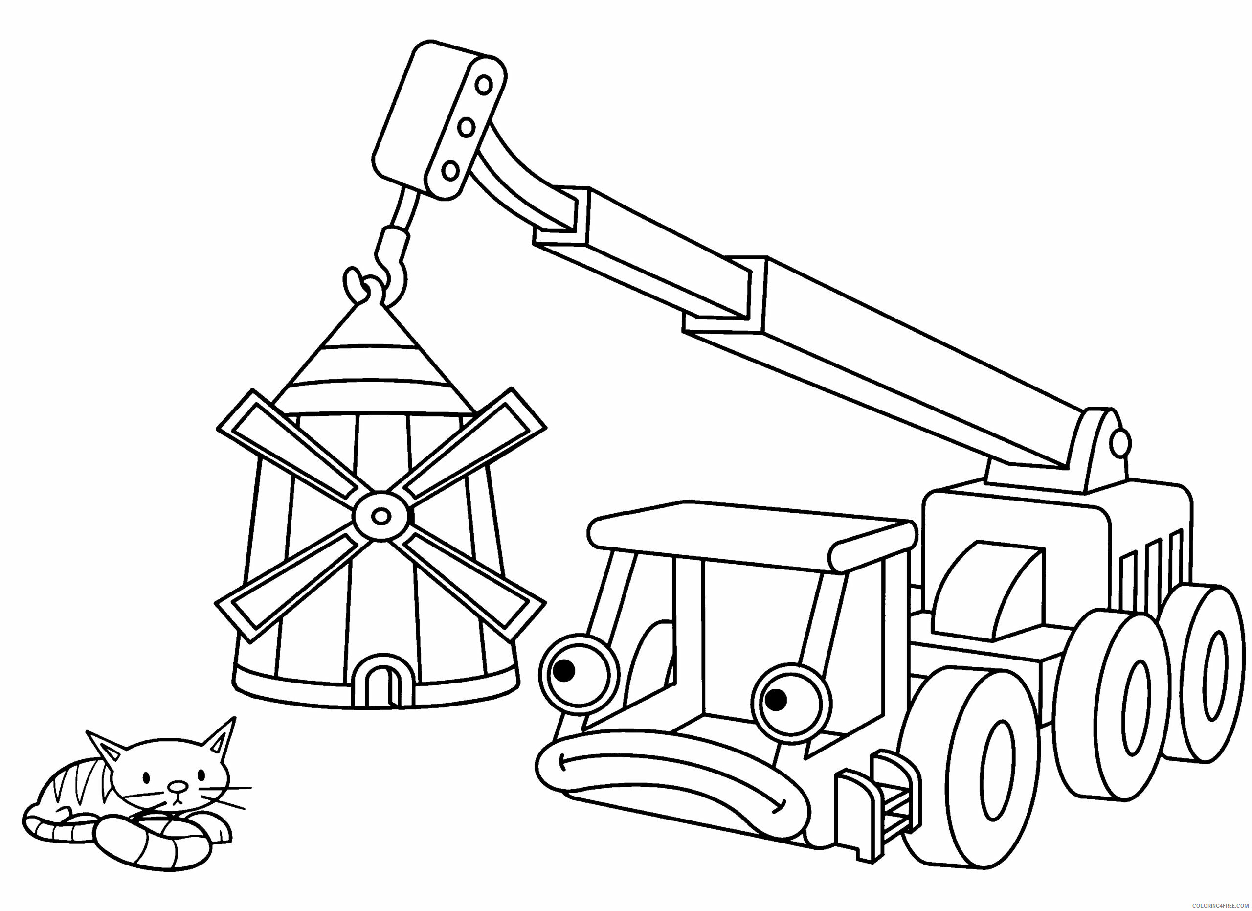 Bob the Builder Coloring Pages TV Film bob the builder 65 Printable 2020 01087 Coloring4free