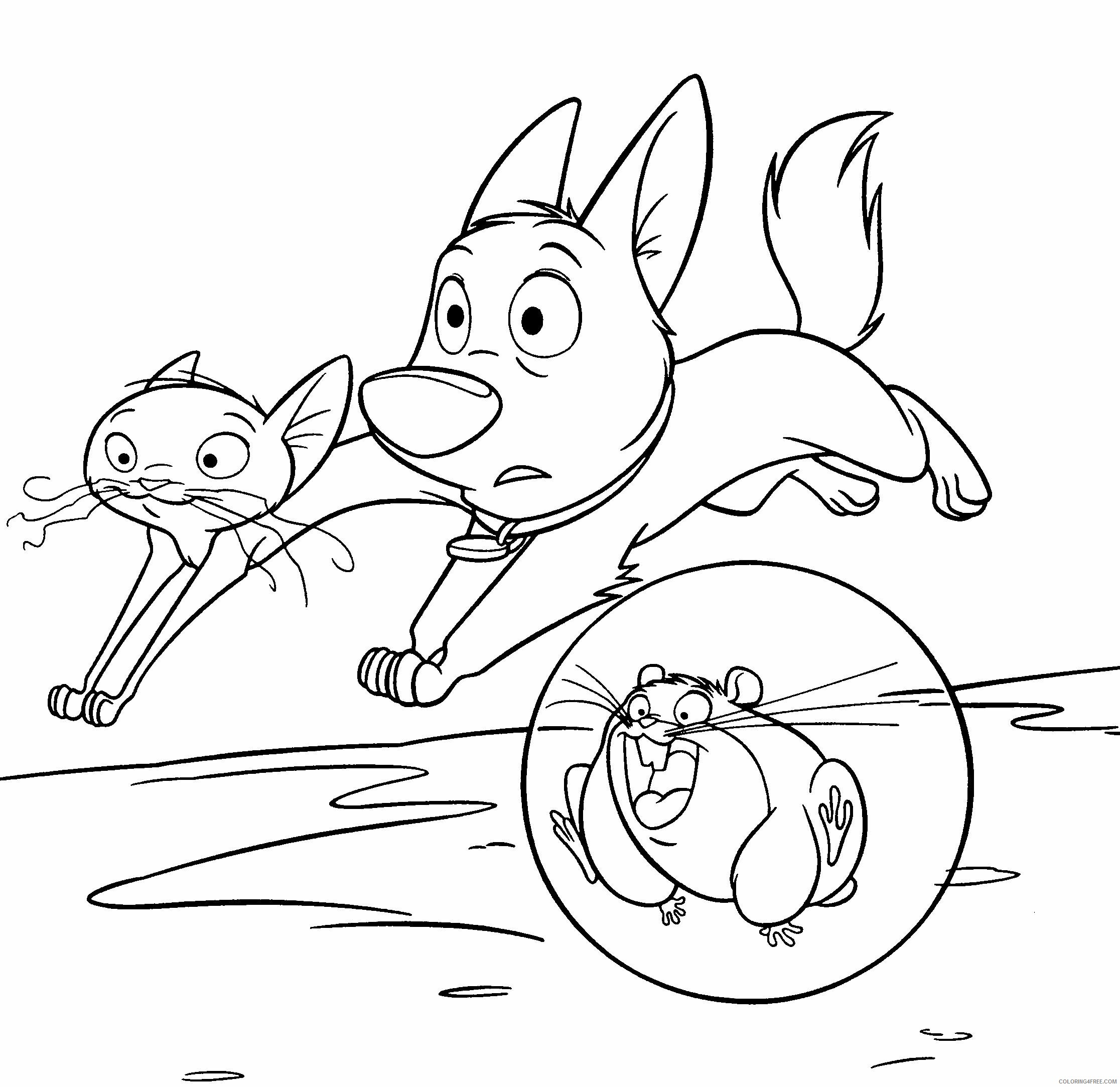 Bolt Coloring Pages TV Film Bolt Movie Characters Printable 2020 01235 Coloring4free