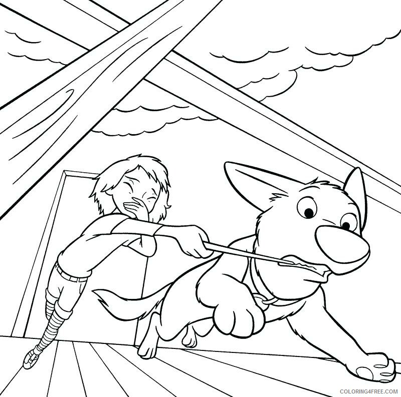 Bolt Coloring Pages TV Film Bolt Printable 2020 01216 Coloring4free