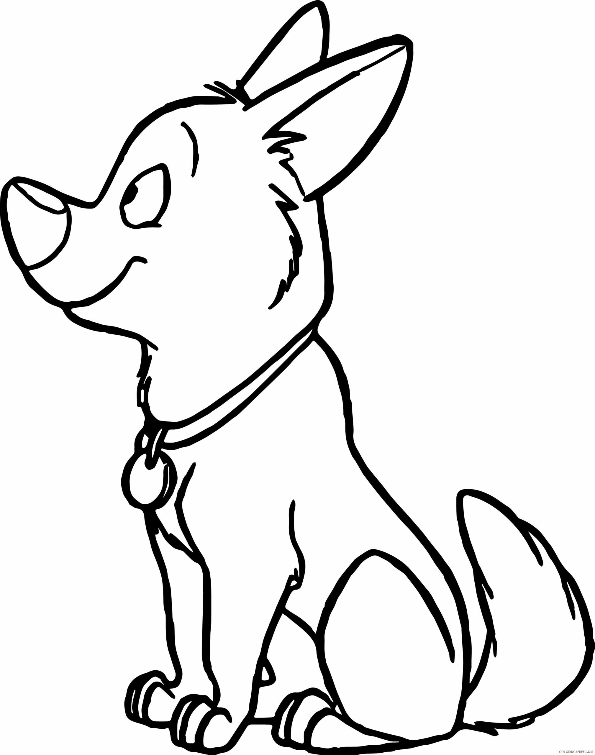 Bolt Coloring Pages TV Film Cute Bolt Movie Printable 2020 01244 Coloring4free