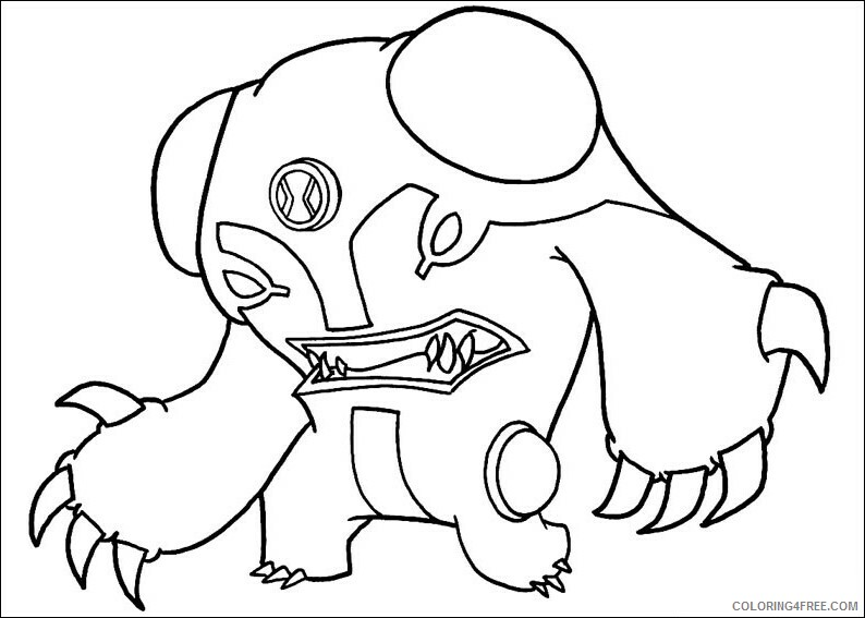 Bolt Coloring Pages TV Film angry cannonbolt Printable 2020 01157 Coloring4free