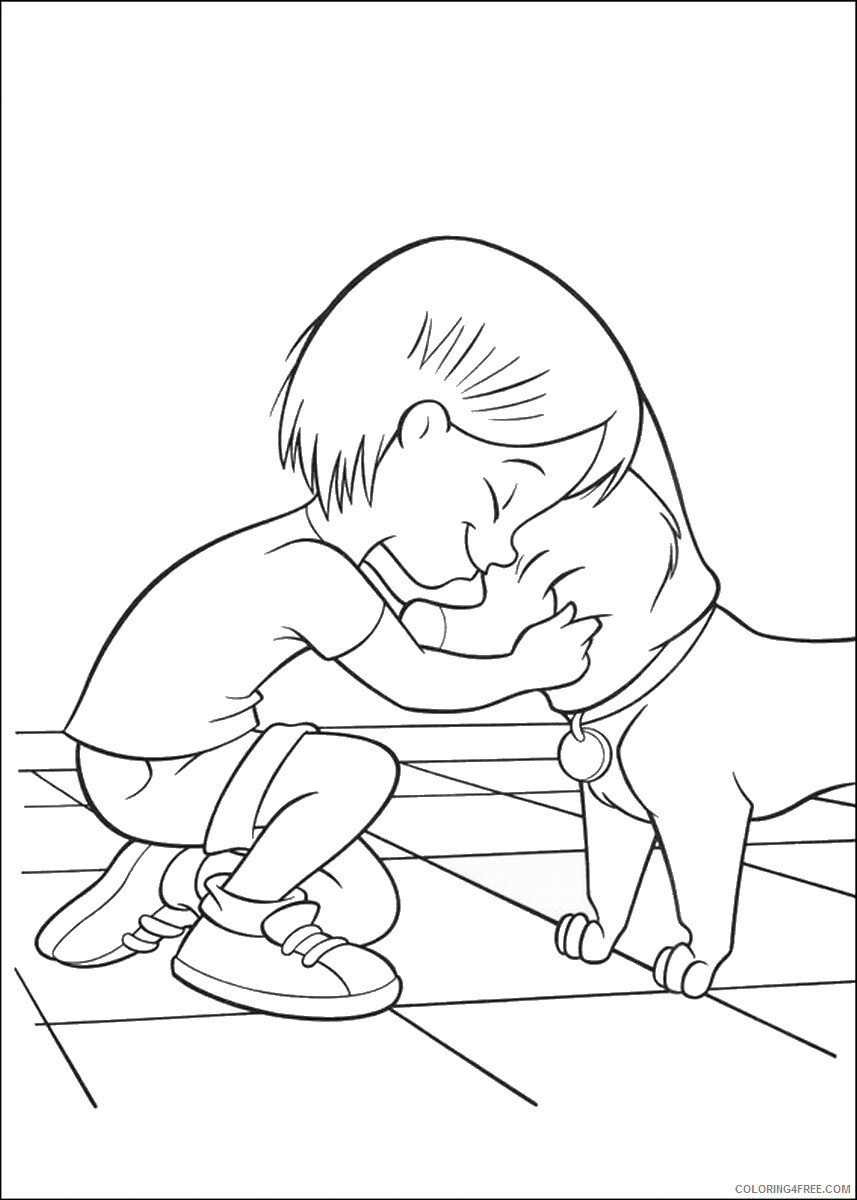 Bolt Coloring Pages TV Film bolt_cl_10 Printable 2020 01171 Coloring4free
