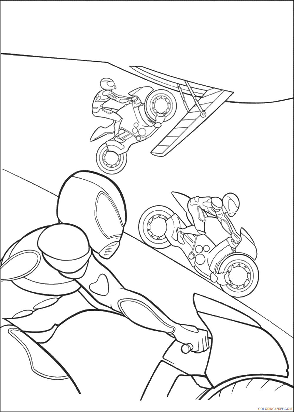Bolt Coloring Pages TV Film bolt_cl_13 Printable 2020 01174 Coloring4free
