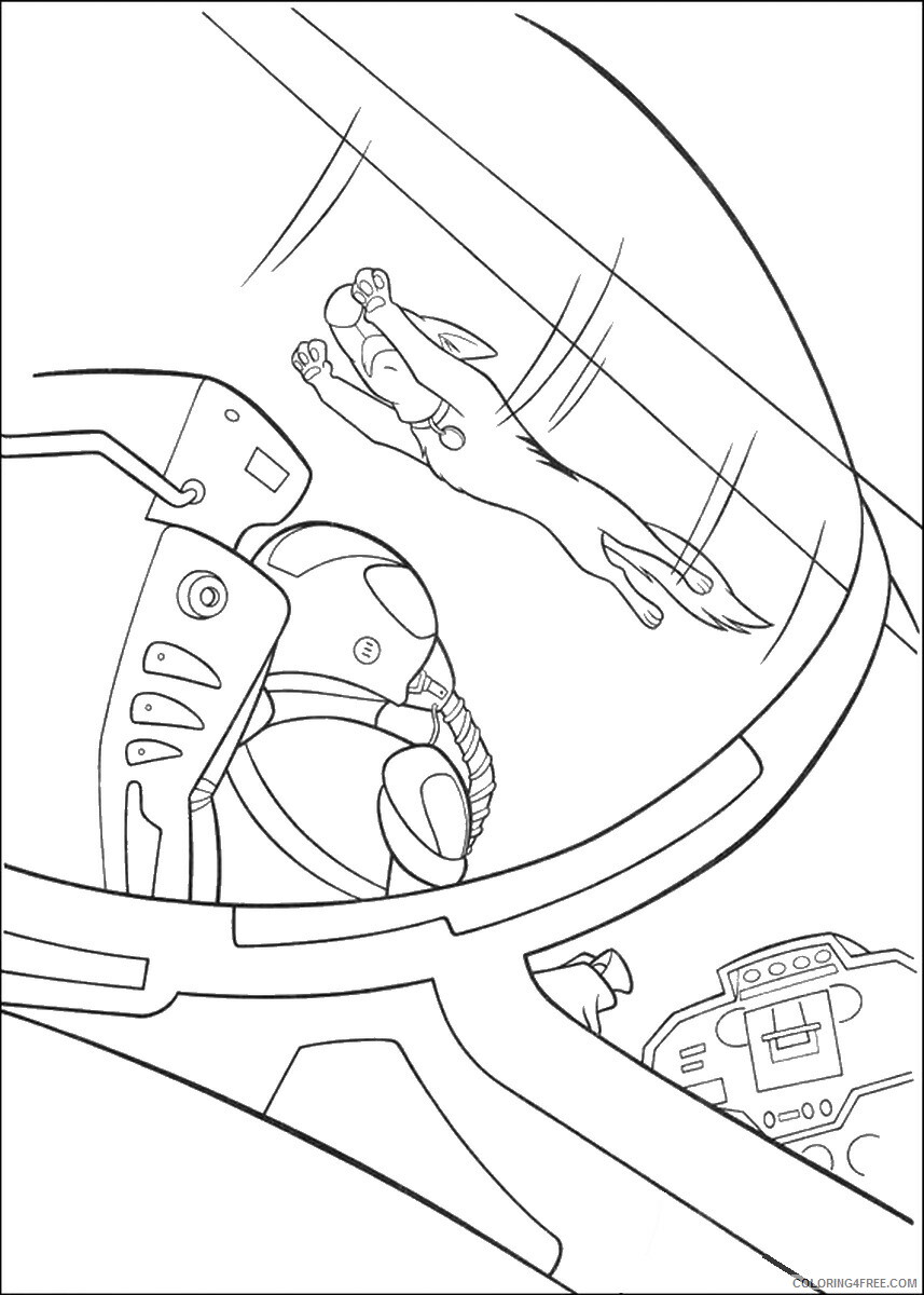 Bolt Coloring Pages TV Film bolt_cl_15 Printable 2020 01176 Coloring4free