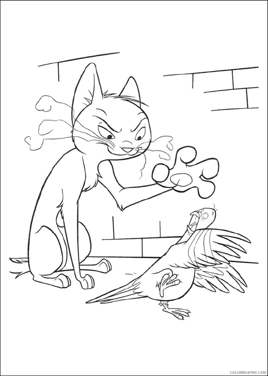 Bolt Coloring Pages TV Film bolt_cl_24 Printable 2020 01185 Coloring4free