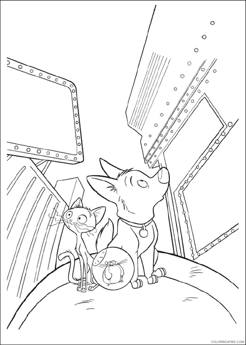 Bolt Coloring Pages TV Film bolt_cl_26 Printable 2020 01187 Coloring4free
