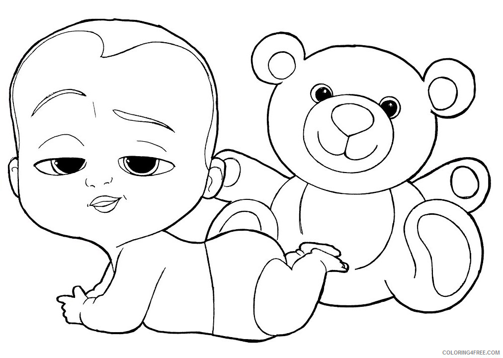 Boss Baby Coloring Pages TV Film Boss Baby Printable 2020 01268 Coloring4free