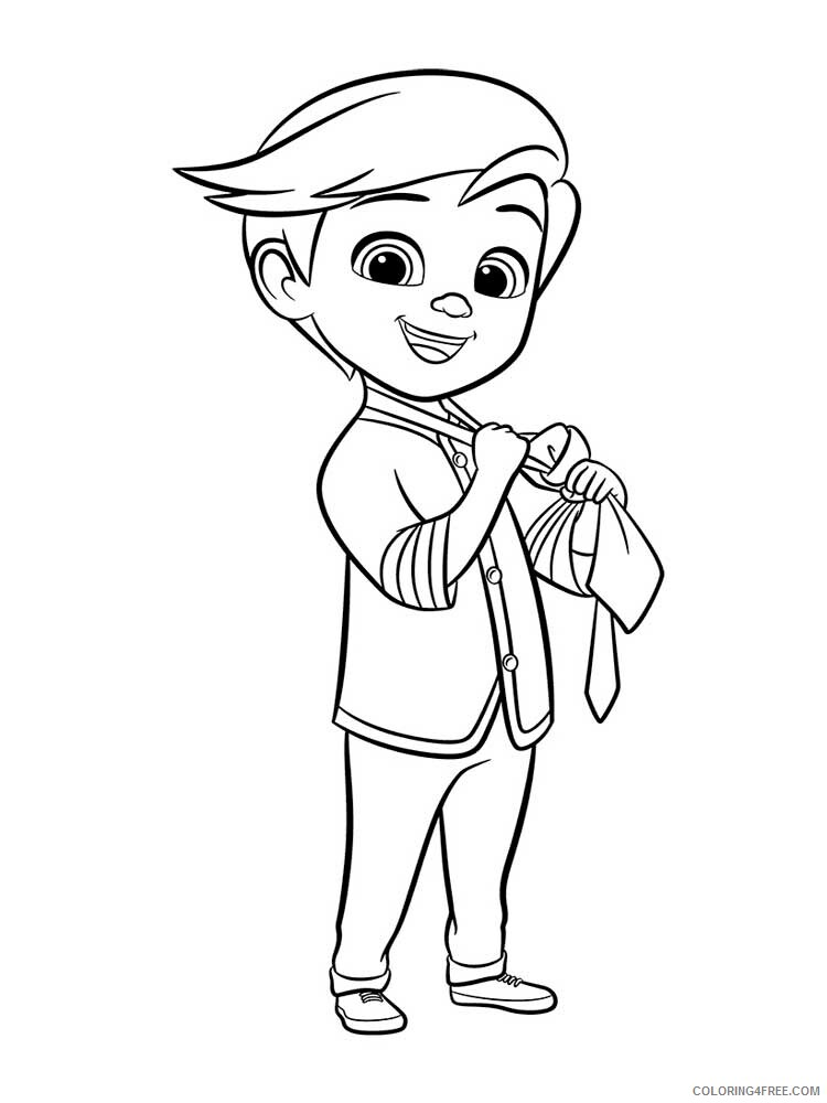 Boss Baby Coloring Pages TV Film The Boss Baby 11 Printable 2020 01292 Coloring4free