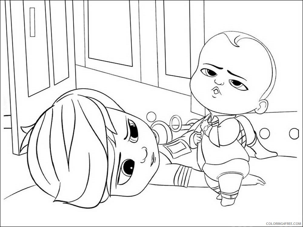 Boss Baby Coloring Pages TV Film The Boss Baby 5 Printable 2020 01300 Coloring4free