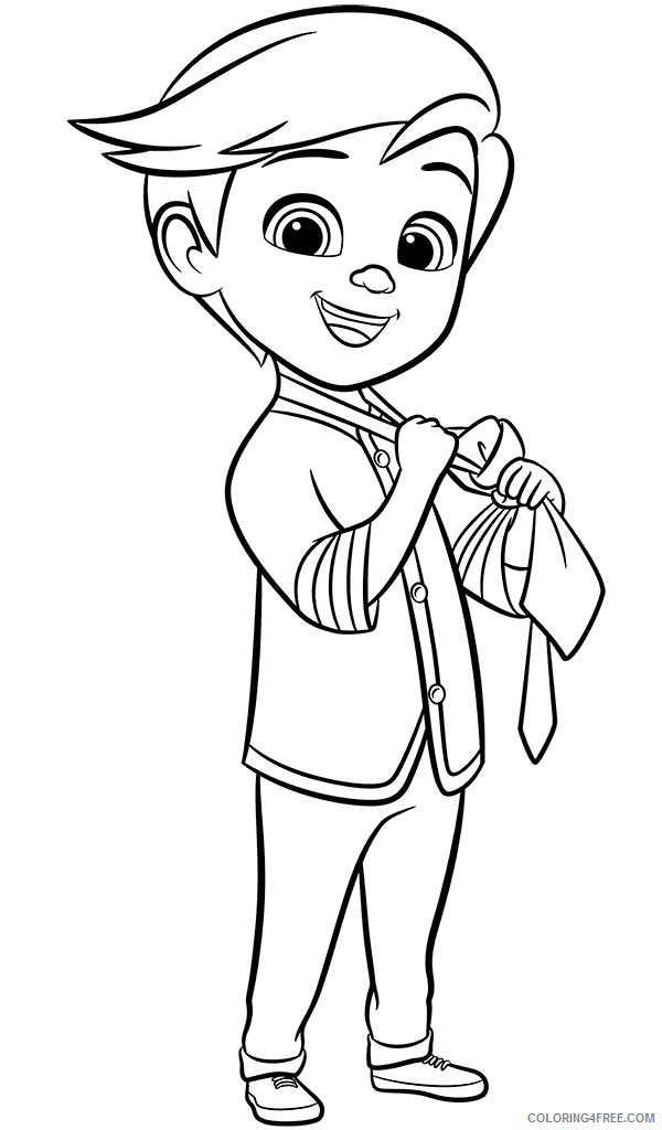 Boss Baby Coloring Pages TV Film Tim Boss Baby Printable 2020 01305 Coloring4free