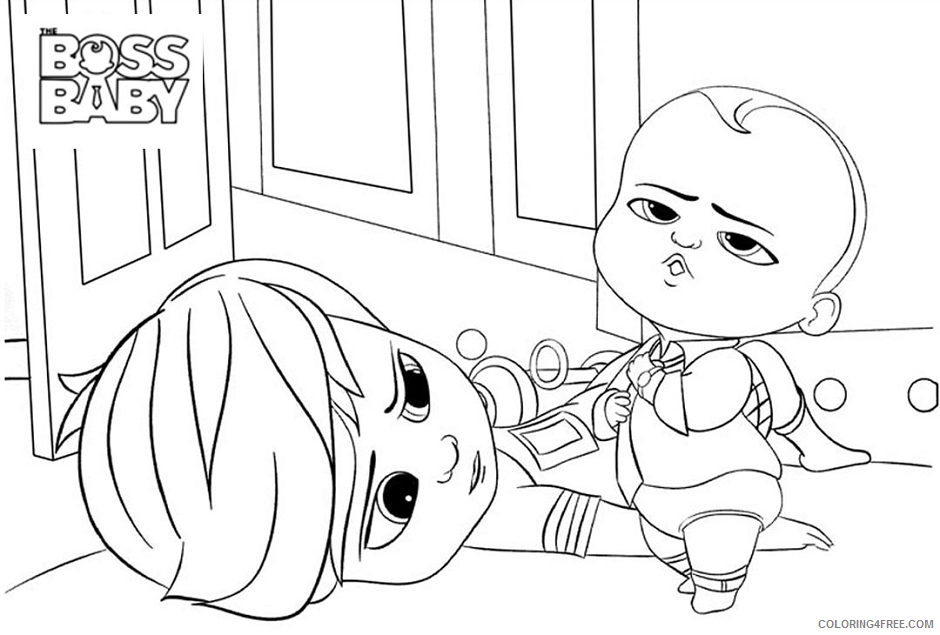 Boss Baby Coloring Pages TV Film funnytim n bossbaby Printable 2020 01262 Coloring4free