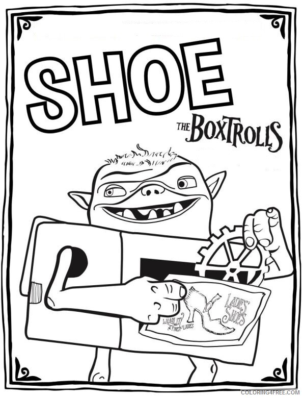 Boxtrolls Coloring Pages TV Film die boxtrolls IuGgr Printable 2020 01316 Coloring4free