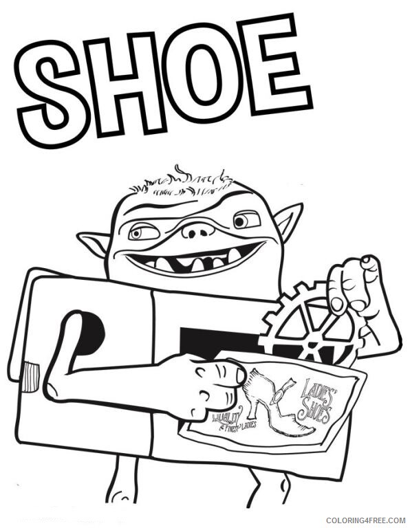 Boxtrolls Coloring Pages TV Film die boxtrolls jrYl2 Printable 2020 01317 Coloring4free