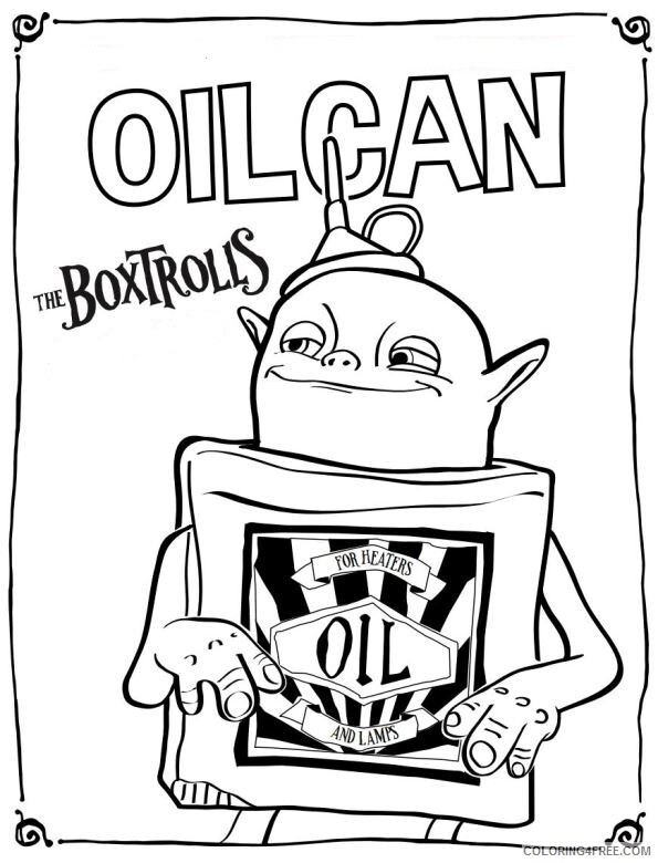 Boxtrolls Coloring Pages TV Film die boxtrolls zDqqA Printable 2020 01322 Coloring4free