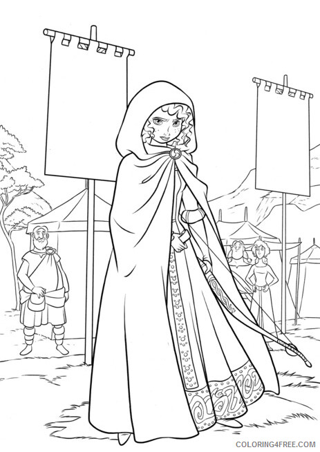 Brave Coloring Pages TV Film Brave Printable 2020 01410 Coloring4free
