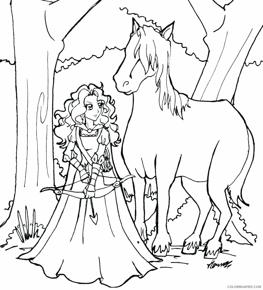 Brave Coloring Pages TV Film Download Brave Printable 2020 01416 Coloring4free