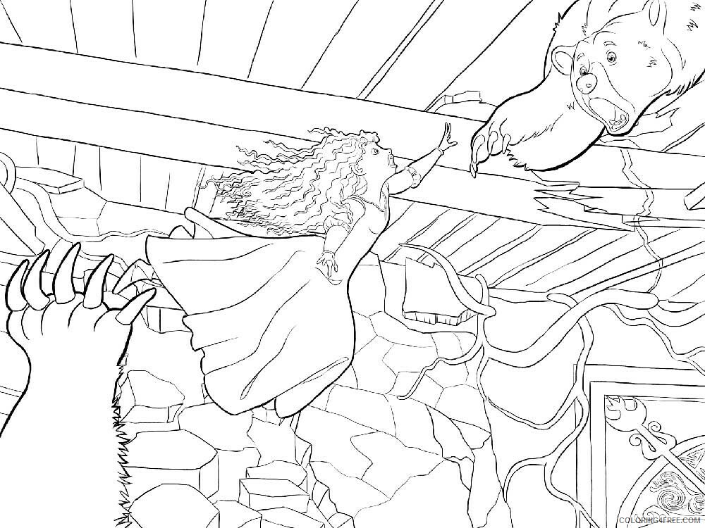 Brave Coloring Pages TV Film brave 12 Printable 2020 01385 Coloring4free