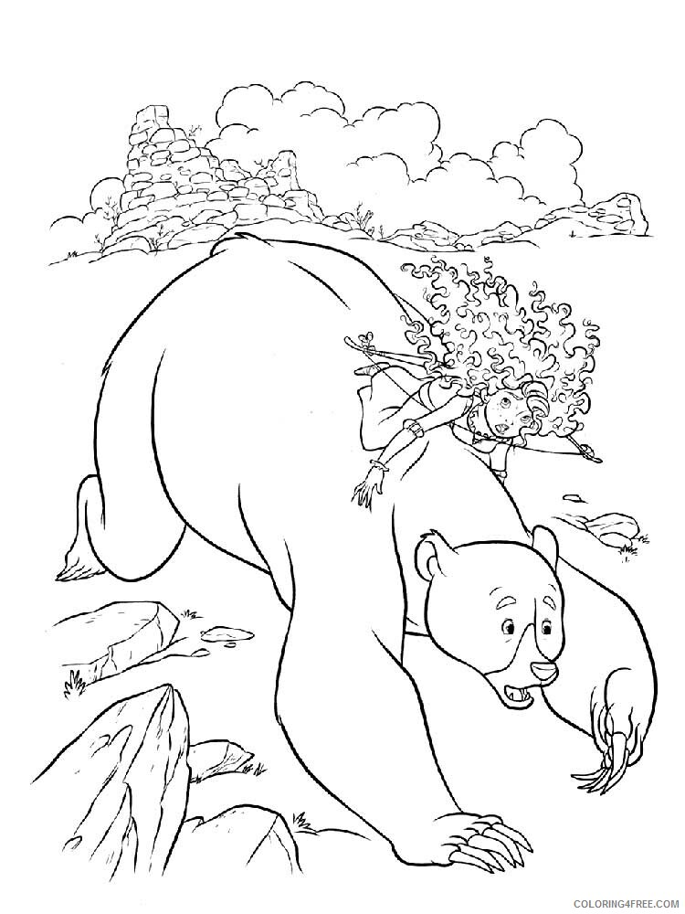 Brave Coloring Pages TV Film brave 15 Printable 2020 01388 Coloring4free