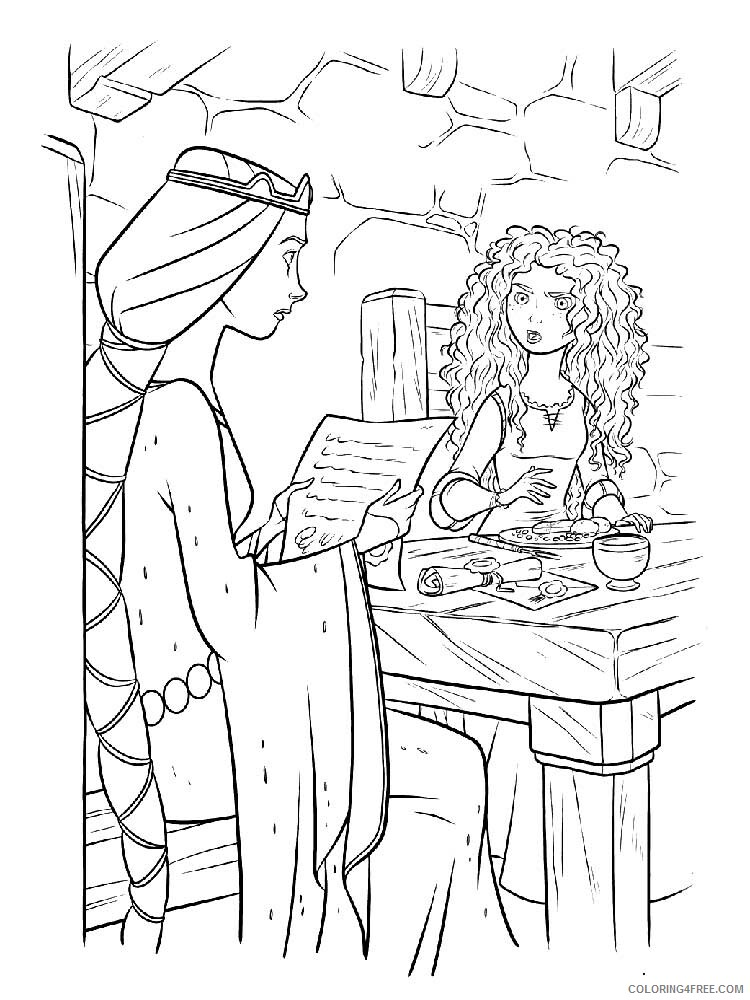 Brave Coloring Pages TV Film brave 16 Printable 2020 01389 Coloring4free