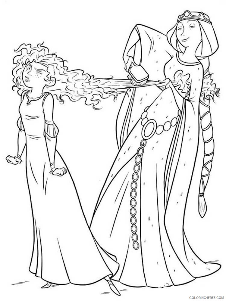 Brave Coloring Pages TV Film brave 2 Printable 2020 01390 Coloring4free