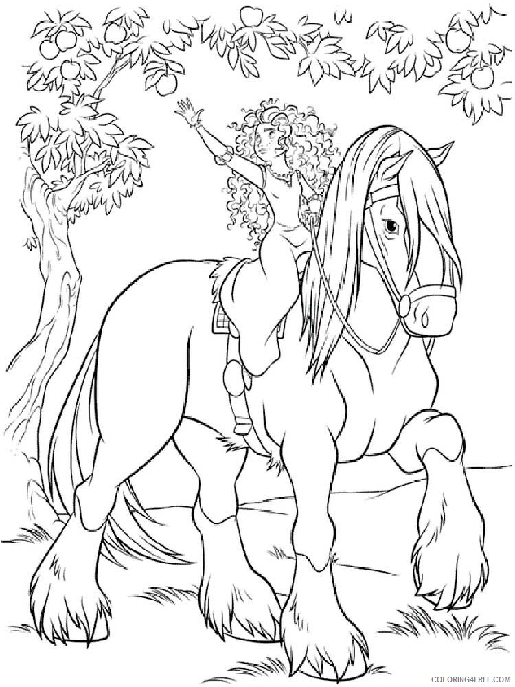 Brave Coloring Pages TV Film brave 22 Printable 2020 01391 Coloring4free