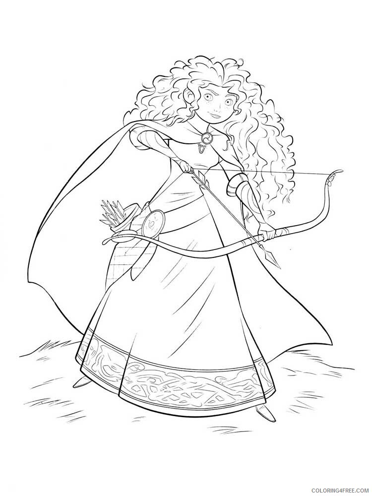 Brave Coloring Pages TV Film brave 23 Printable 2020 01392 Coloring4free