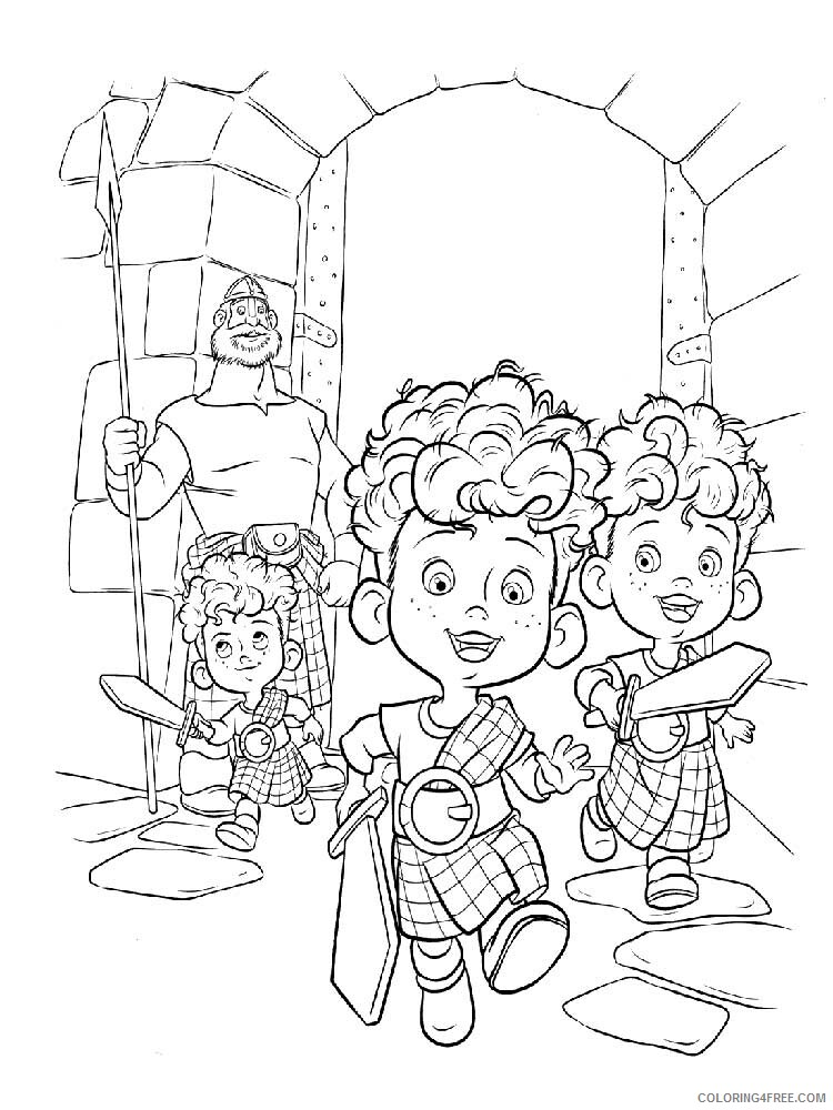 Brave Coloring Pages TV Film brave 24 Printable 2020 01393 Coloring4free