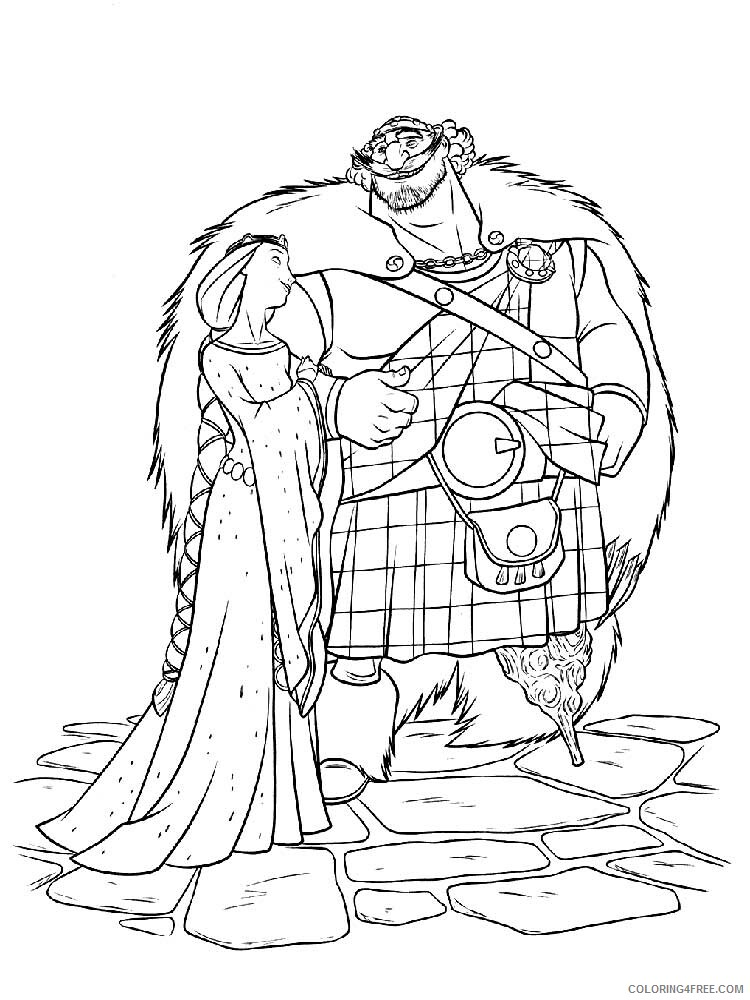 Brave Coloring Pages TV Film brave 25 Printable 2020 01394 Coloring4free