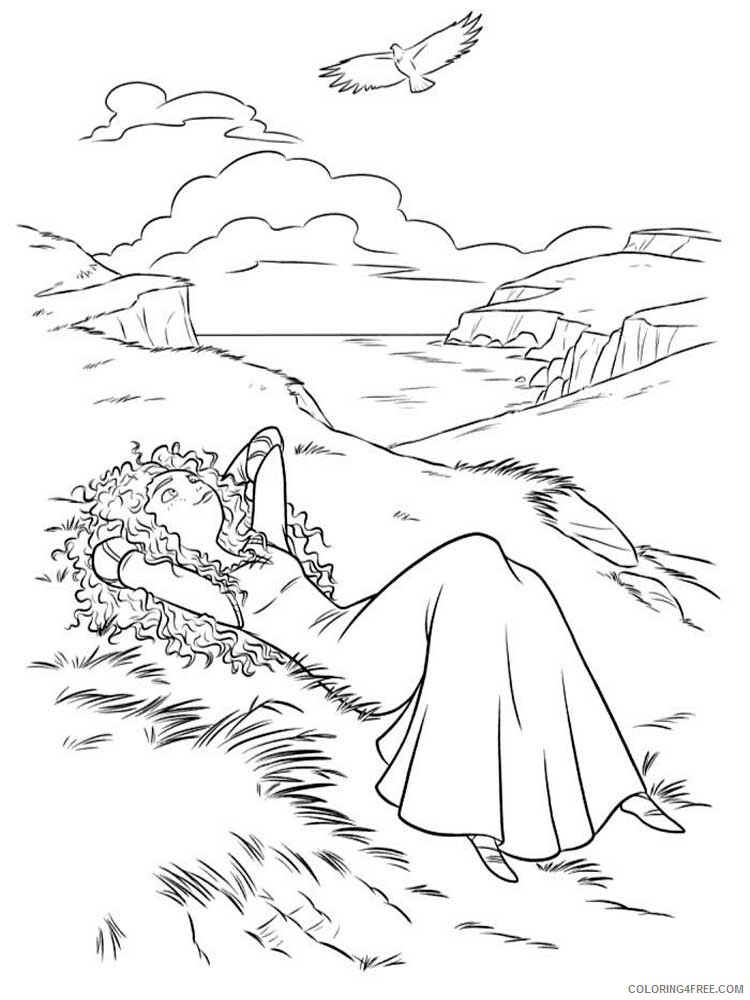 Brave Coloring Pages TV Film brave 6 Printable 2020 01398 Coloring4free