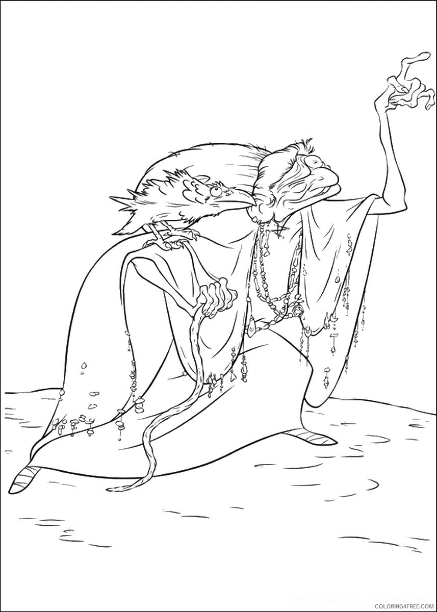 Brave Coloring Pages TV Film brave_cl_08 Printable 2020 01347 Coloring4free