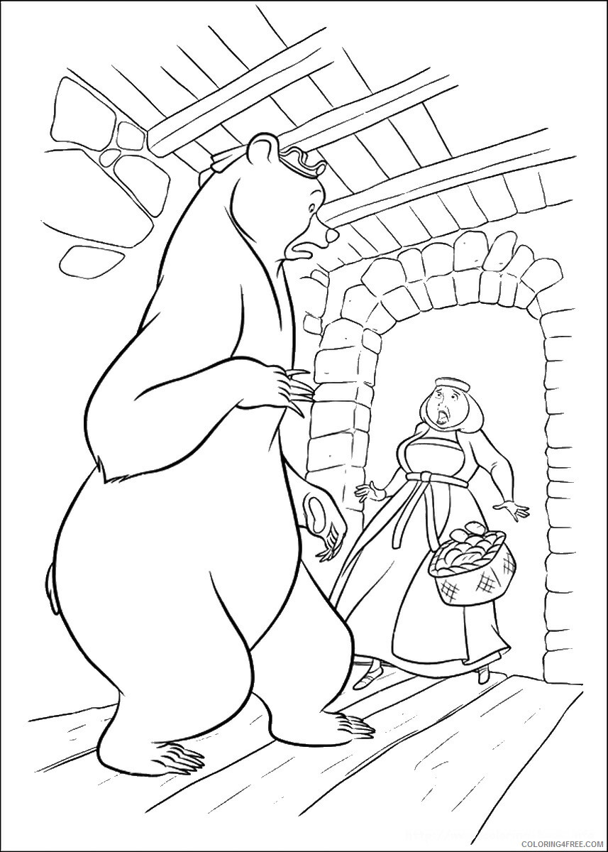 Brave Coloring Pages TV Film brave_cl_14 Printable 2020 01353 Coloring4free