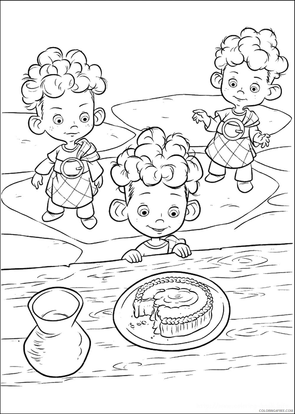 Brave Coloring Pages TV Film brave_cl_15 Printable 2020 01354 Coloring4free
