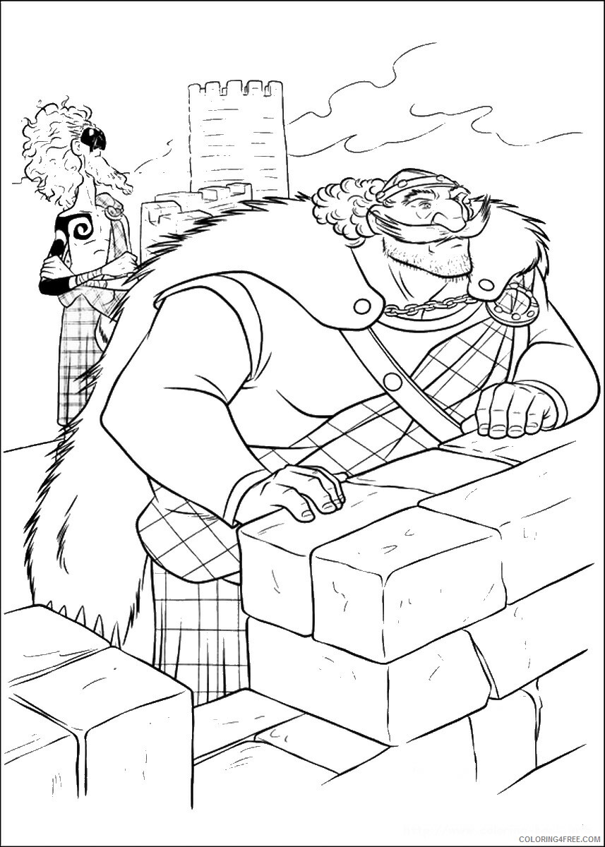 Brave Coloring Pages TV Film brave_cl_17 Printable 2020 01356 Coloring4free