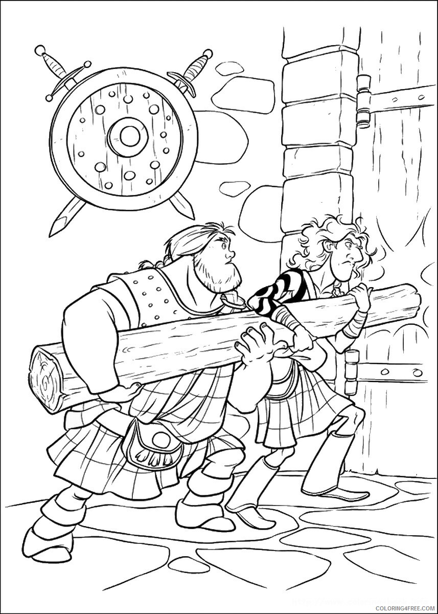 Brave Coloring Pages TV Film brave_cl_18 Printable 2020 01357 Coloring4free