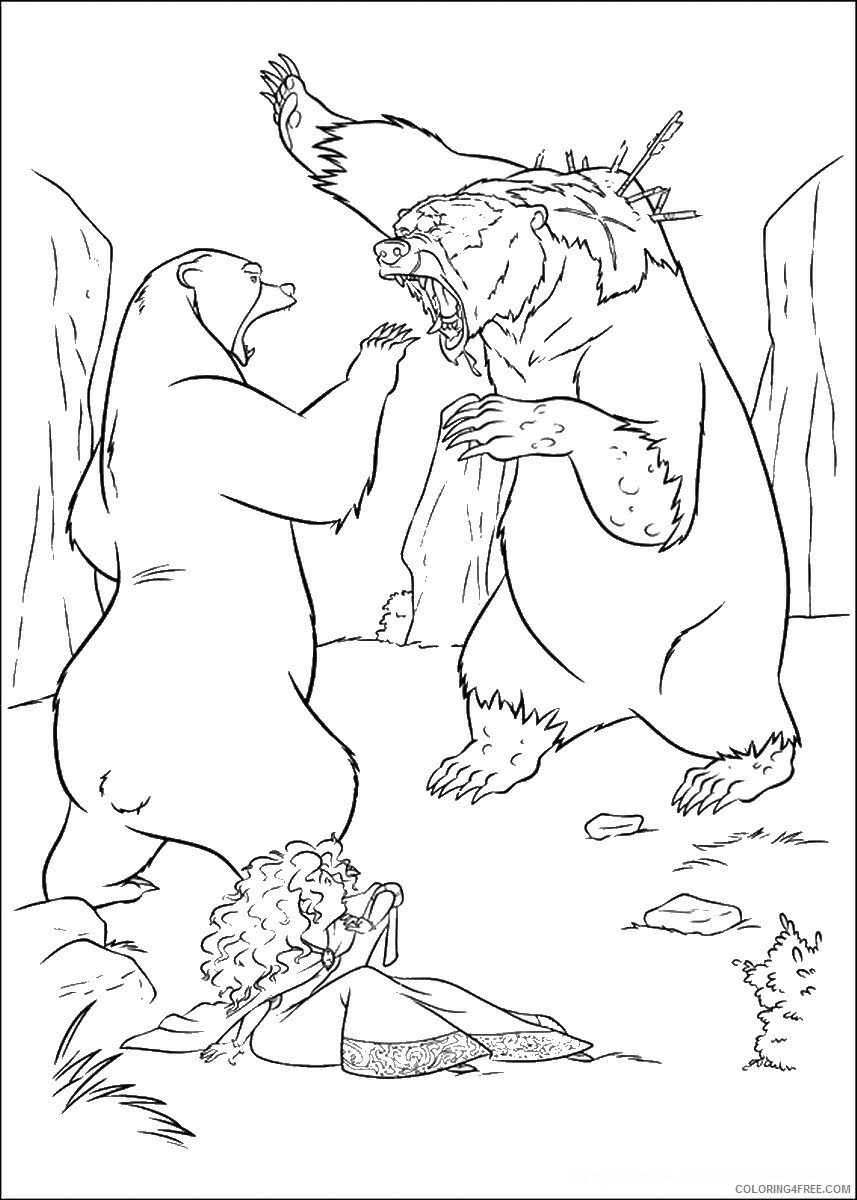 Brave Coloring Pages TV Film brave_cl_22 Printable 2020 01361 Coloring4free