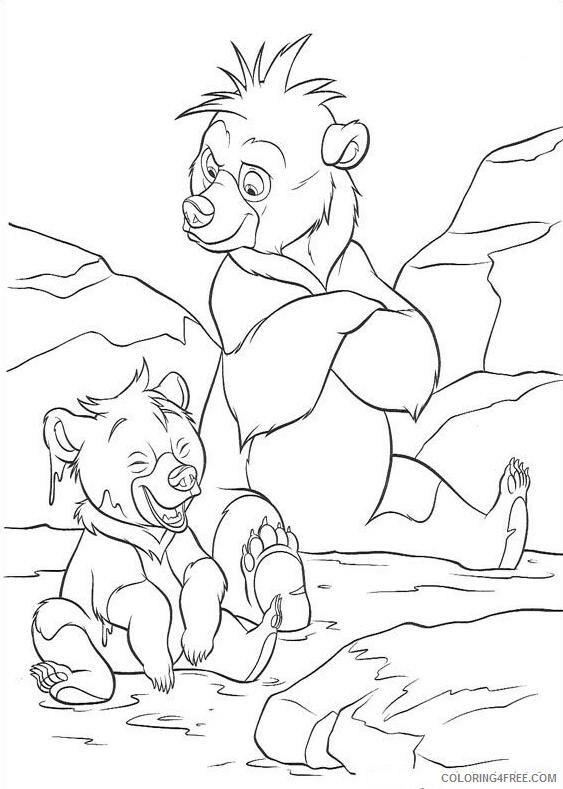 Brother Bear Coloring Pages TV Film brother bear 36 Printable 2020 01513 Coloring4free