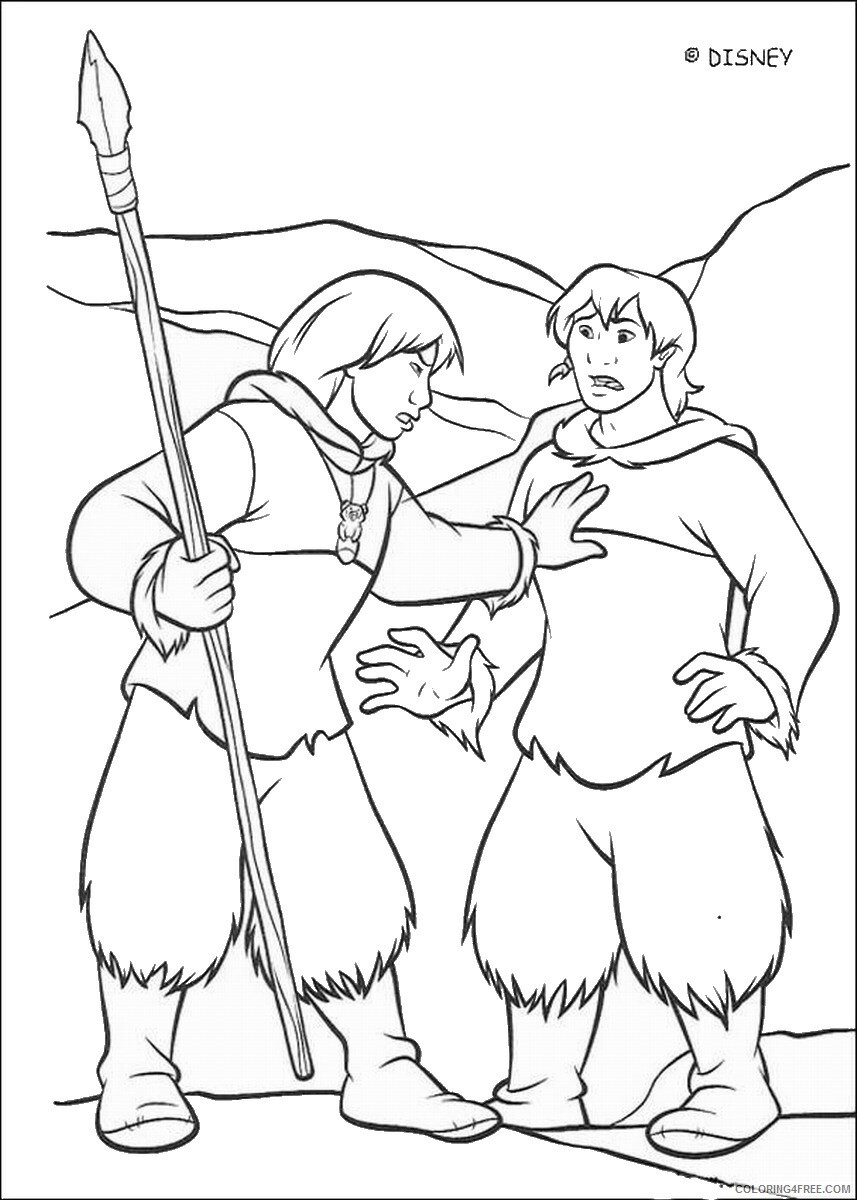 Brother Bear Coloring Pages TV Film brother_bear_coloring14 Printable 2020 01428 Coloring4free