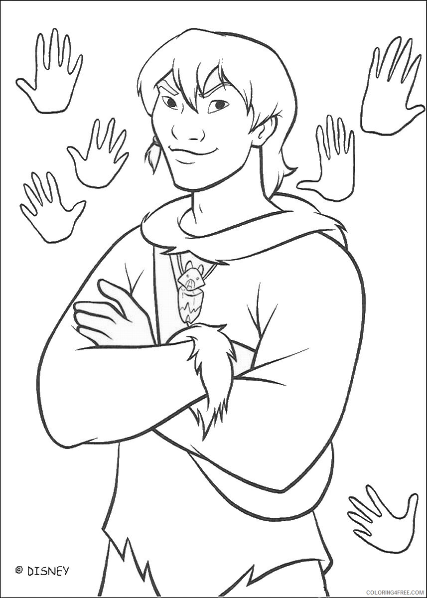 Brother Bear Coloring Pages TV Film brother_bear_coloring6 Printable 2020 01463 Coloring4free