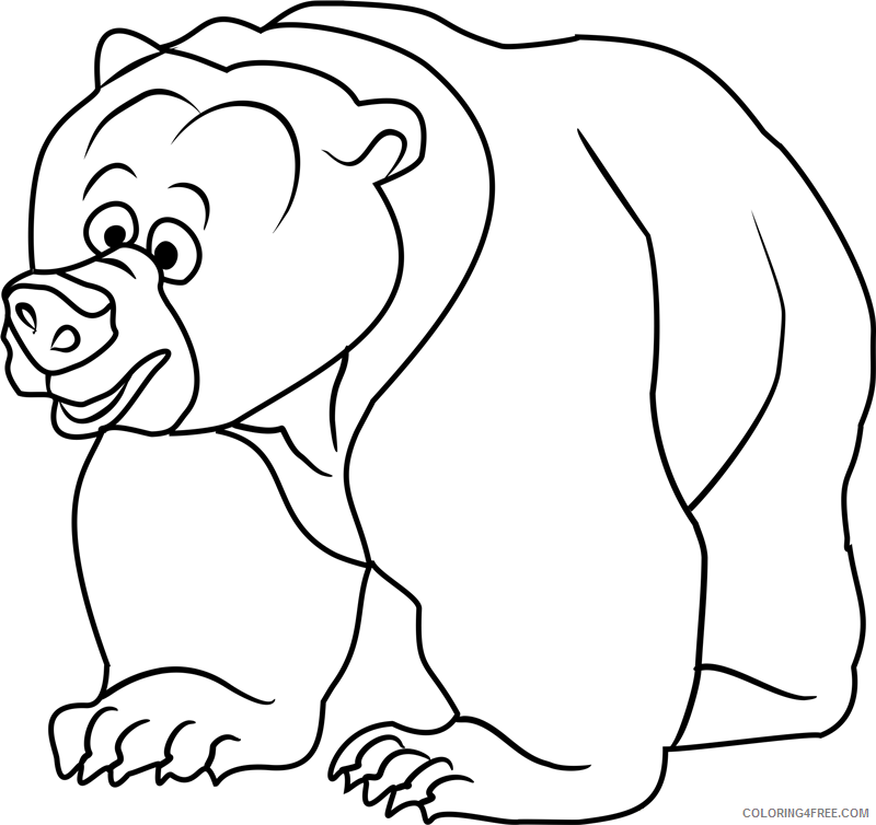 Brother Bear Coloring Pages TV Film tug in brother bear Printable 2020 01421 Coloring4free