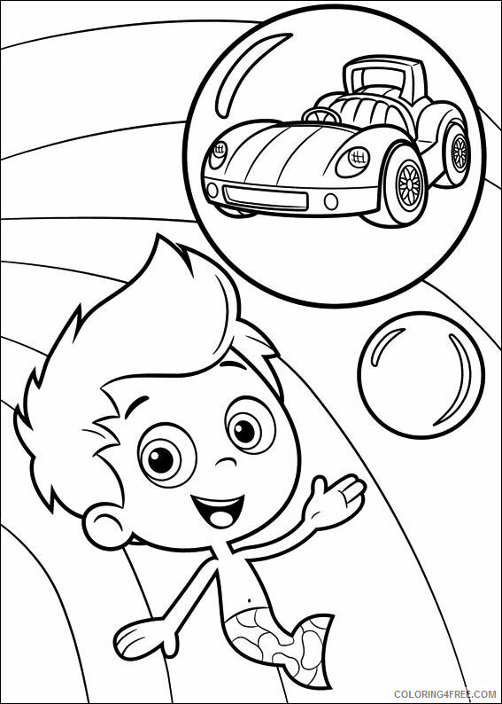 Bubble Guppies Coloring Pages TV Film Bubble Guppies Gil 2 Printable 2020 01618 Coloring4free