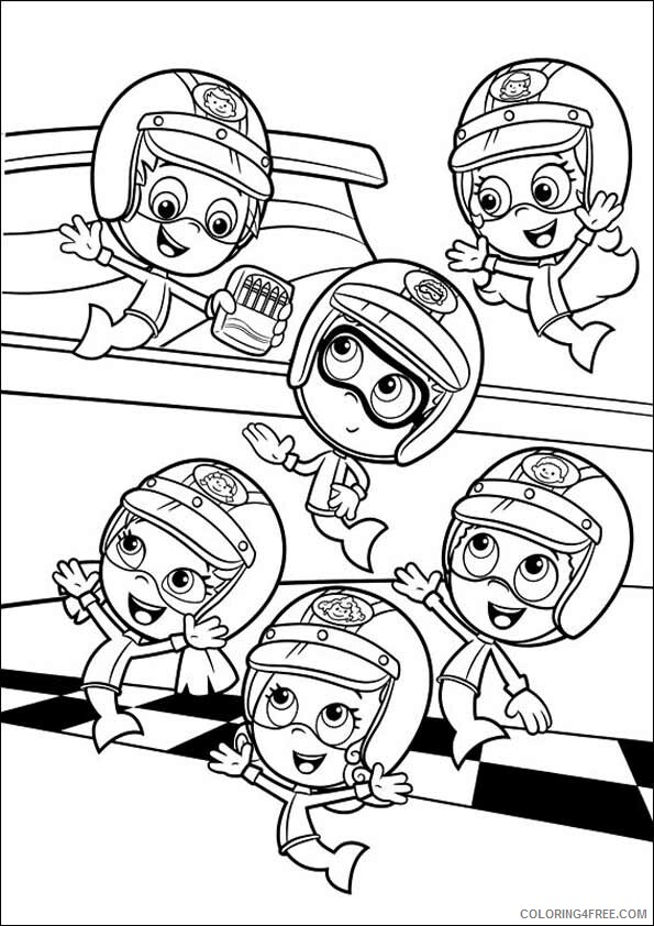 Bubble Guppies Coloring Pages TV Film Bubble Guppies Printable 2020 01629 Coloring4free
