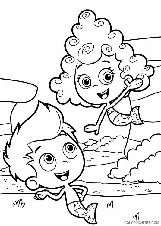 Bubble Guppies Coloring Pages TV Film Bubble Guppies Printable 2020 01640 Coloring4free