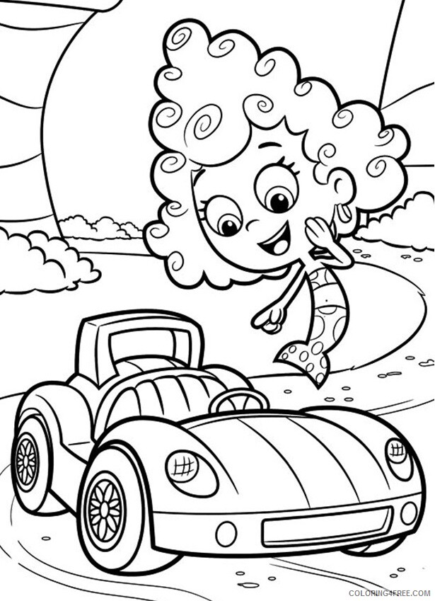 Bubble Guppies Coloring Pages TV Film Deema Bubble Guppies Printable 2020 01649 Coloring4free
