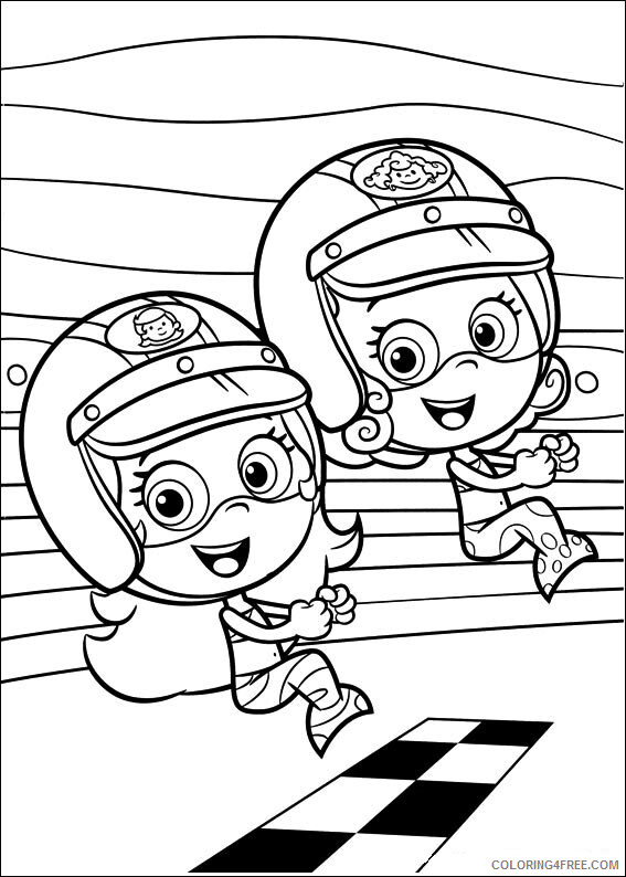 Bubble Guppies Coloring Pages TV Film Free Bubble Guppies Printable 2020 01659 Coloring4free