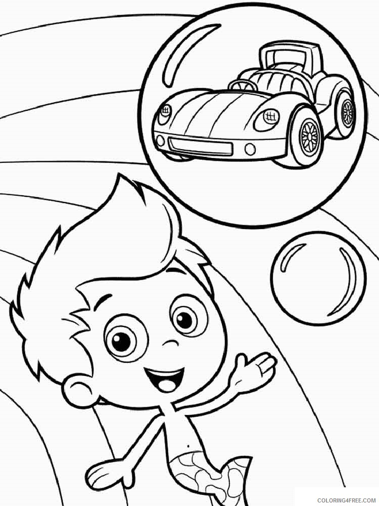 Bubble Guppies Coloring Pages TV Film bubble guppies 11 Printable 2020 01588 Coloring4free